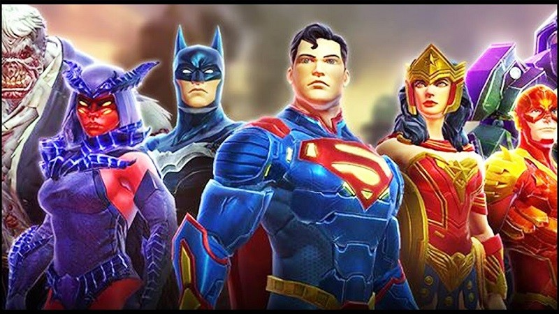 Heroes and Villains Unite in DC Legends
